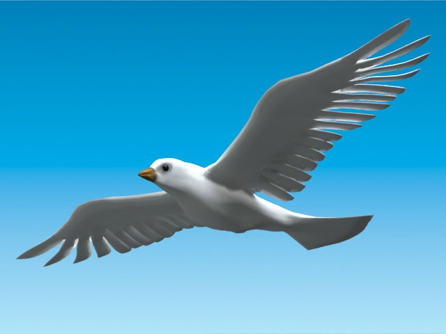 Dove of Peace, AR deployed over Washington, London, and Cairo during the Arab Spring